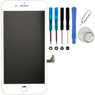 retina lcd display reparatur set f r iphone 8 wei 37 50. Black Bedroom Furniture Sets. Home Design Ideas