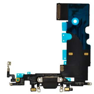 Dock Connector Ladebuchse Flexkabel für iPhone 8 -schwarz-